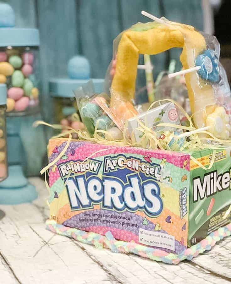 Edible Easter Candy Basket (5)