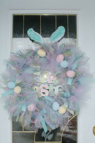 Prettiest Pastel Easter Wreath