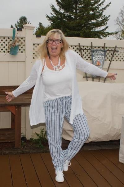 TJ Maxx Beach Pants and a Linkup