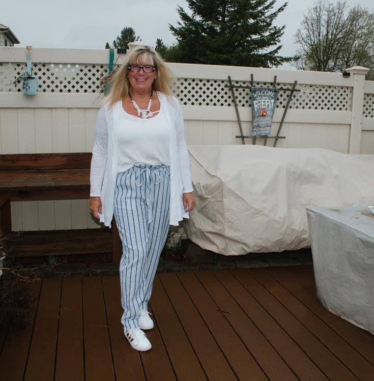 spring linen pants