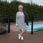 classic adidias and old navy dress 5