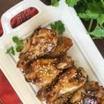 sesame garlic chicken wings