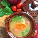 bowl of Vegan Vegetable soup