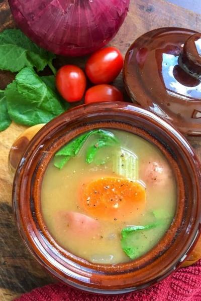Instant Pot® Vegan Vegetable Soup