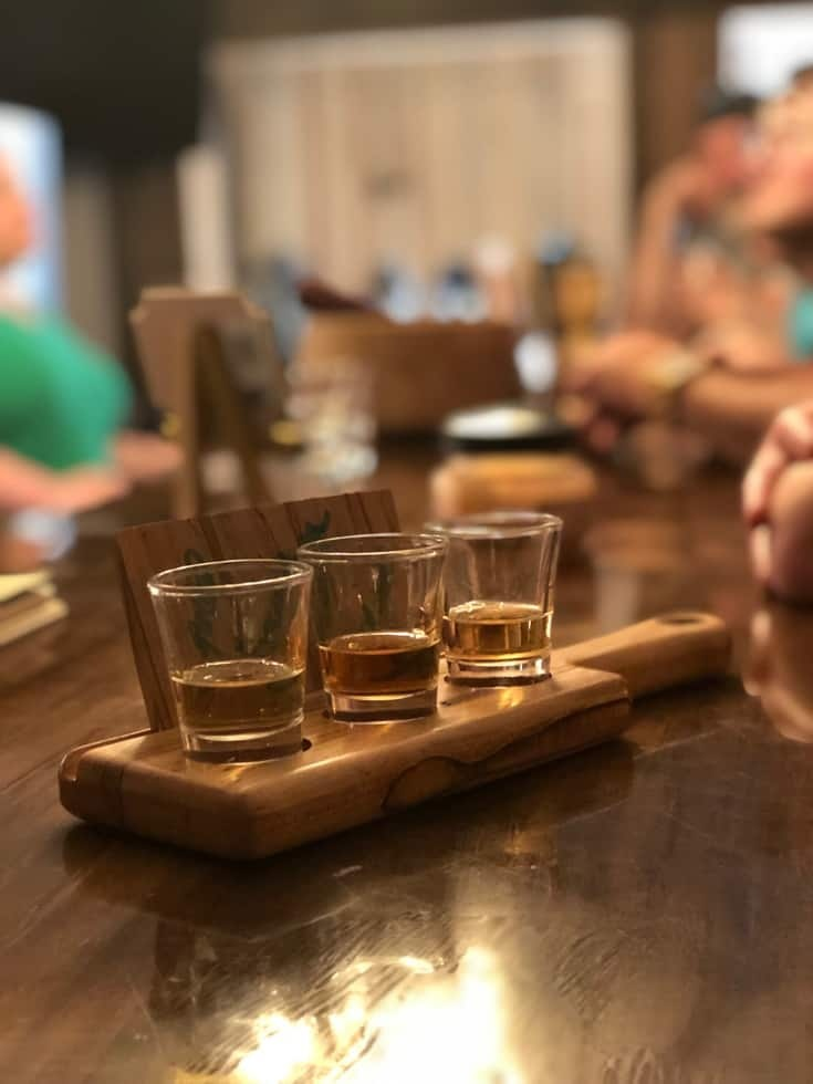 A Williamsburg Distillery and a tasting