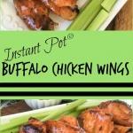 buffalo chicken wings on a plate