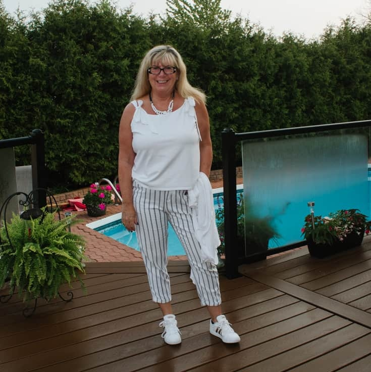 adidas and Old Navy Linen Pants