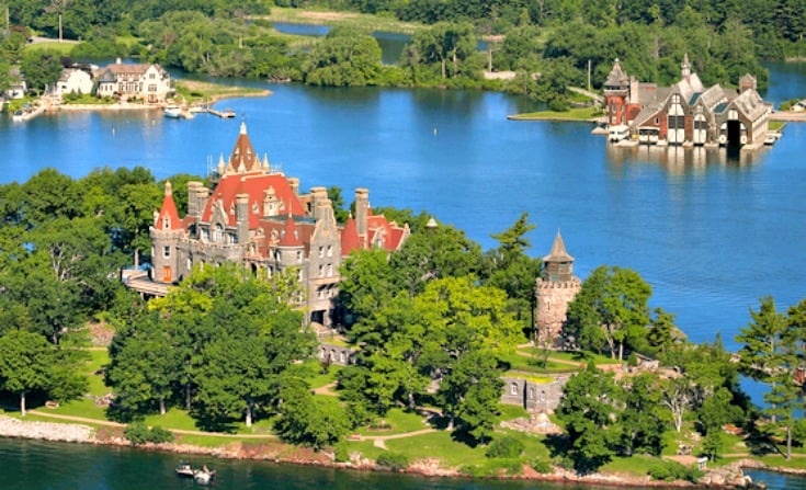 boldt castle in New york state