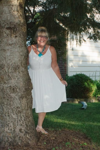 Little White Sundress and A labour of Fashion 234