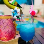 Blue Hawaiian cocktail