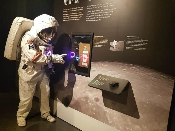 spaceman at the Museum of Nature for Moon Season