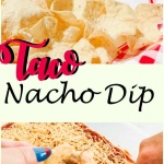 taco dip for summer gatherings