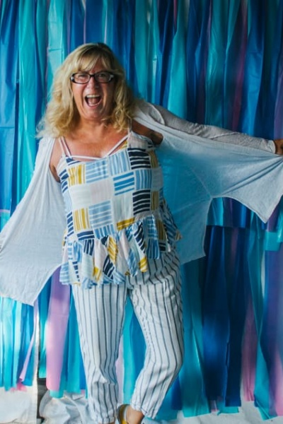Stripes, Peplum and Old Navy and a Trip to Iqualit