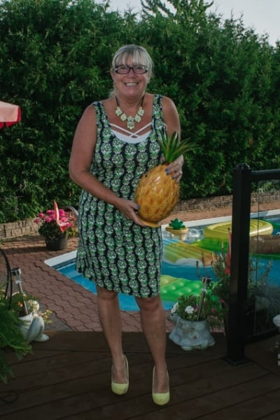Pineapple Dress and A Labour of Fashion 236