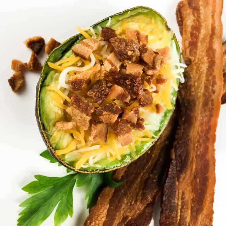 tasty breakfast with an Avocado