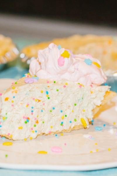 No Bake Rainbow Bit Cheesecake