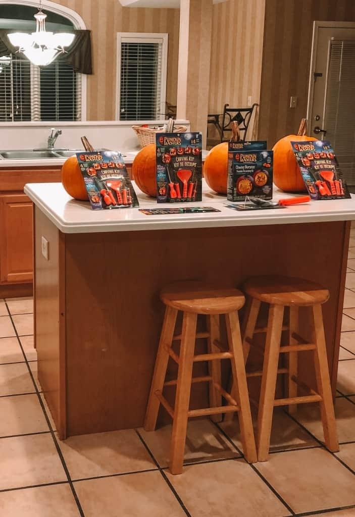 pumpkins at the condo with Exploria Resorts