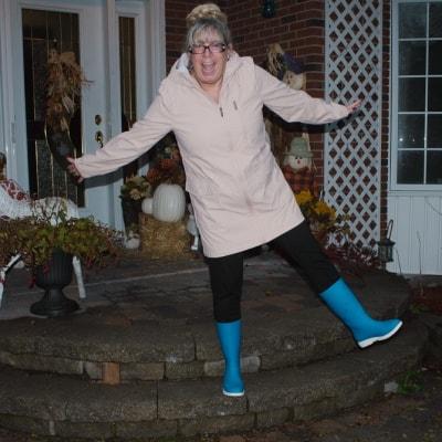 kamik blue rain boots