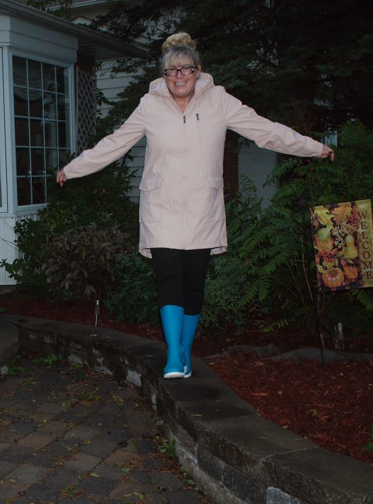 blue kamik rain boots