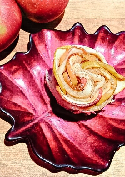 Baked Apple Roses Recipe
