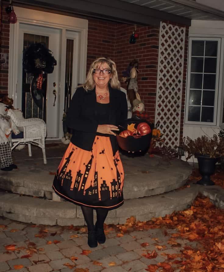 pumpkin skirt for halloween 4