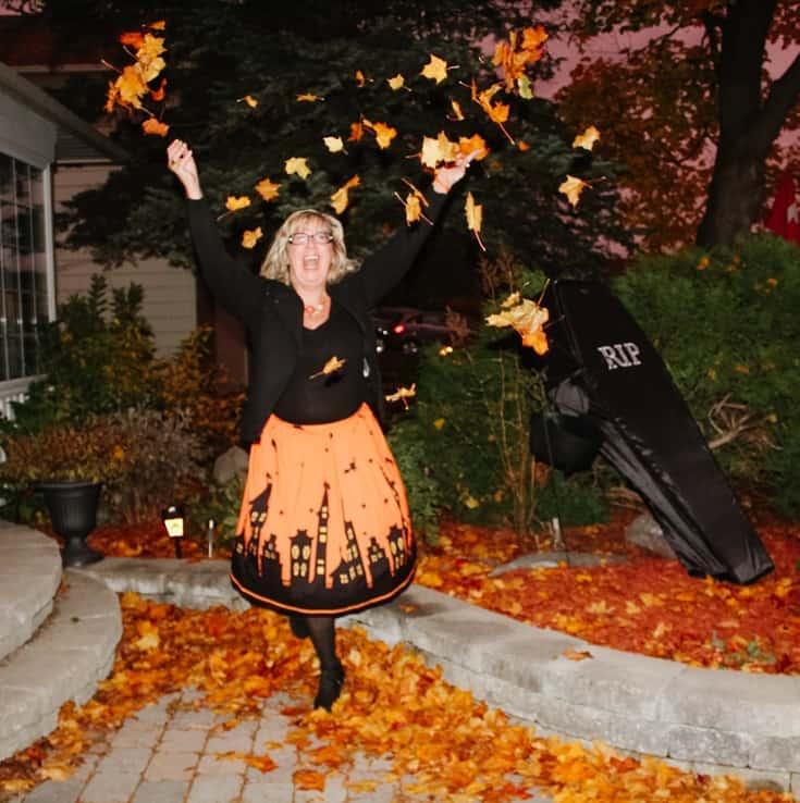 pumpkin skirt for halloween 8