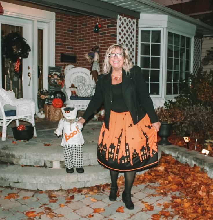 pumpkin skirt for halloween 9