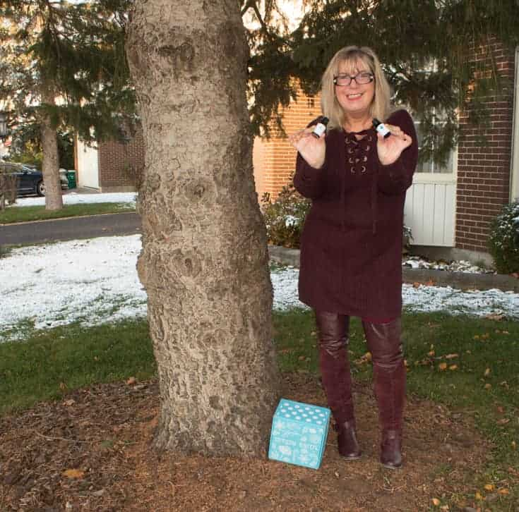 burgundy tunic and boots