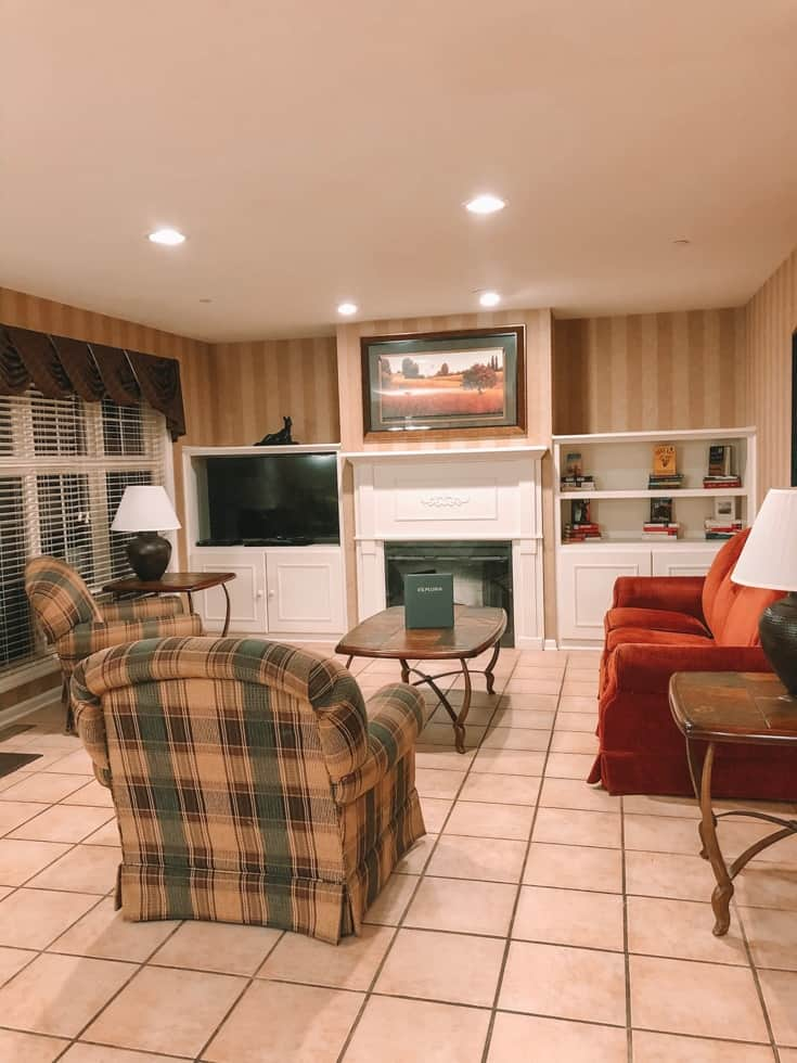 living room at PMV