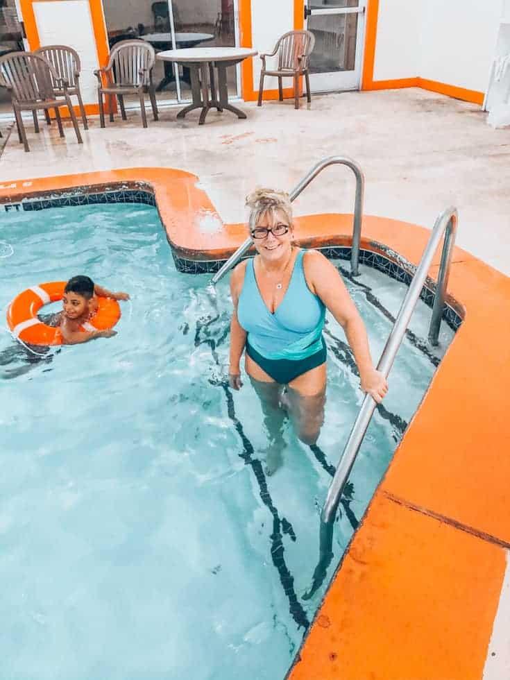 pool side at PMV