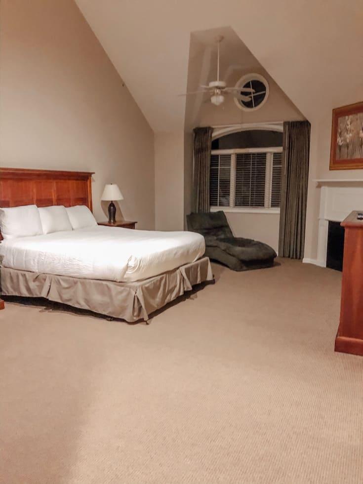 master bedroom at PMV