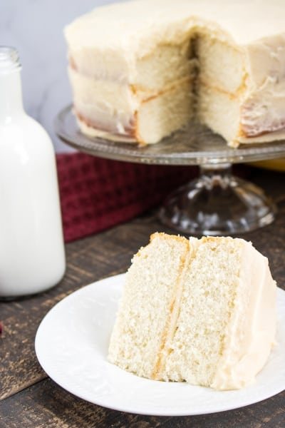 Classic White Cake for Every Day