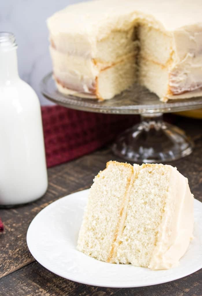 classic white cake recipe