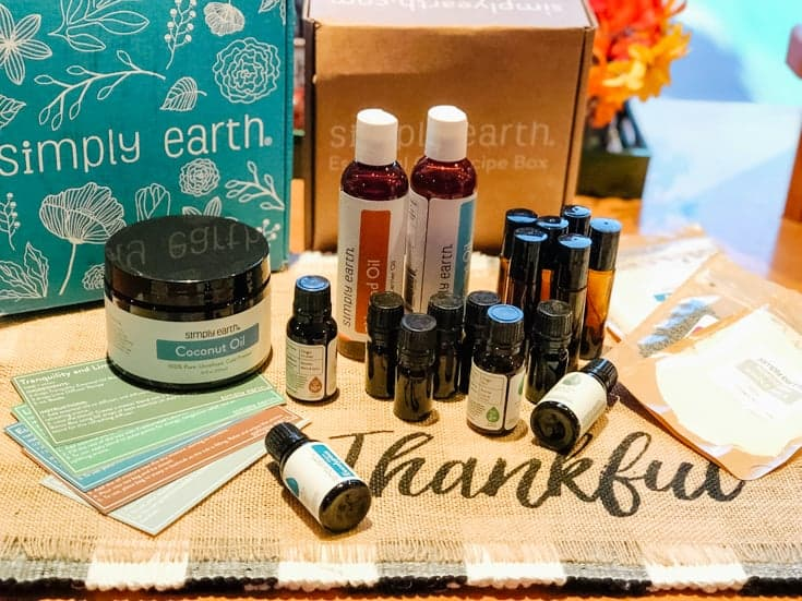 simply earth monthly subscription box