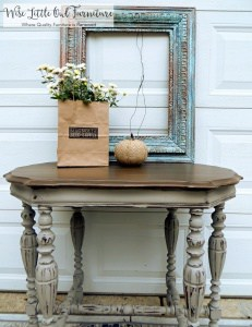 french linen table