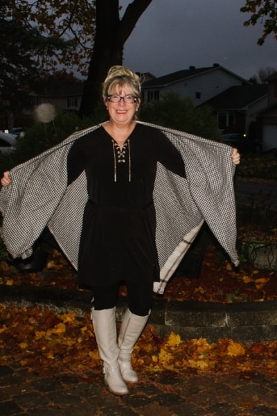 Banana Republic Reversible Cape and No Regrets