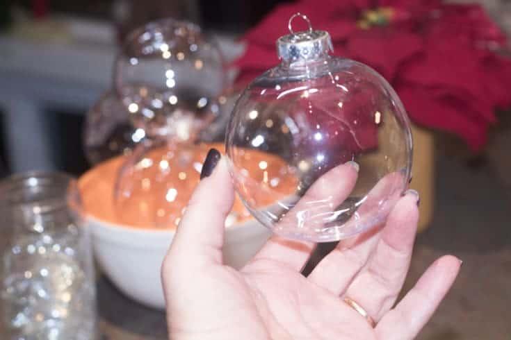 christmas ball glasses