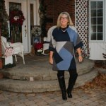eva trends patchwork tunic and boots