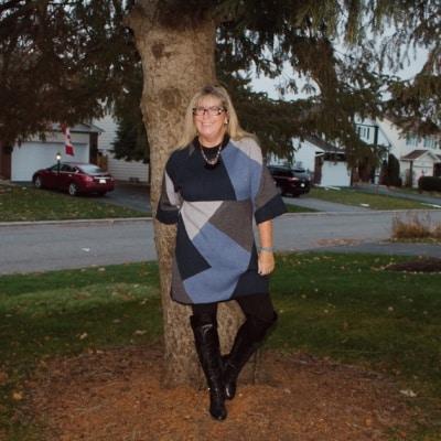 eva trends patchwork tunic