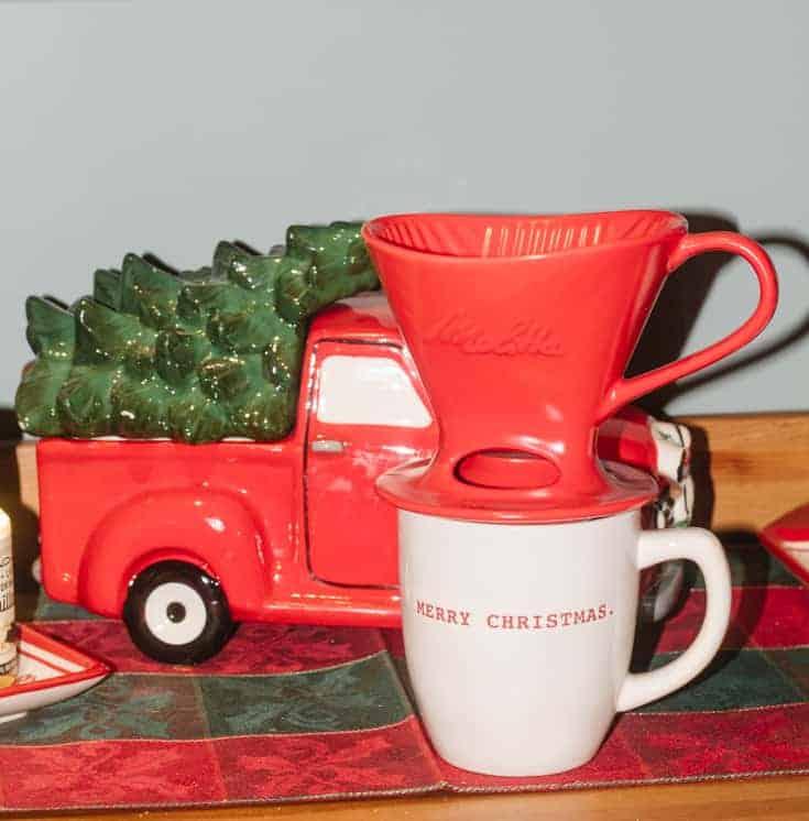 melitta christmas coffee bar set up