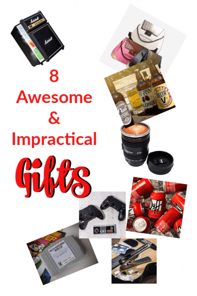 8 Awesome and Impractical Gifts for Birthdays