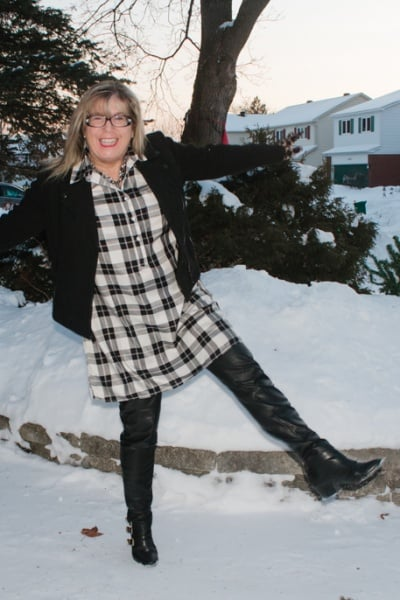 Old Navy Checks and A Labour of Fashion