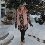 pink fur and lily morgan tunic