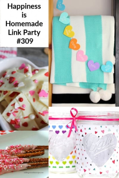 Happiness is Homemade, Link Party #309