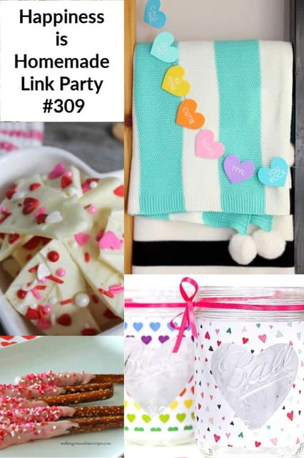 Happiness is Homemade Link Party, #309