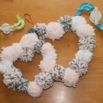 valentine pom pom crafts