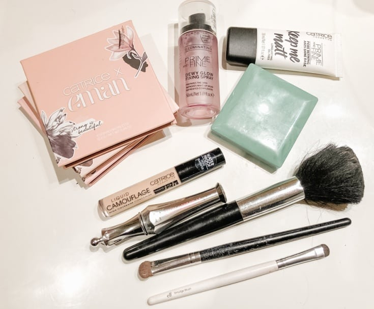 my daily beauty routine with Catrice