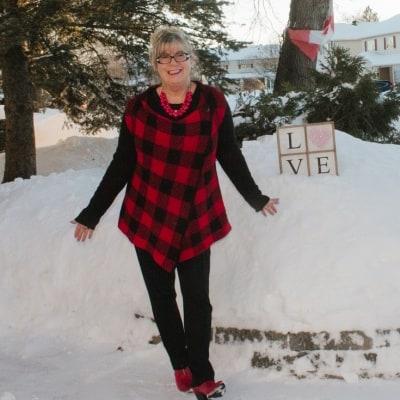 Valentine's in Buffalo Plaid 3
