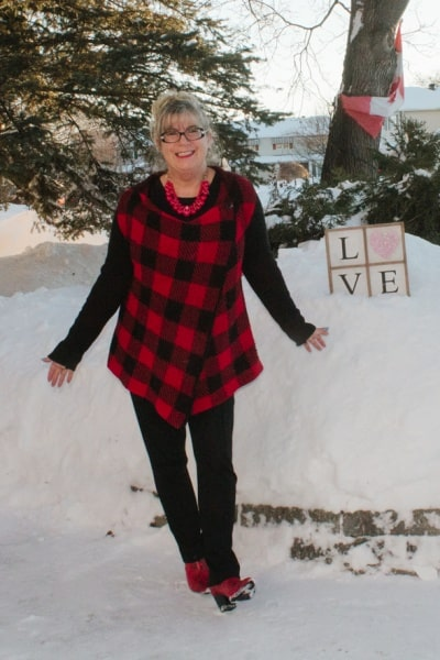 Love and Valentines in Buffalo Plaid