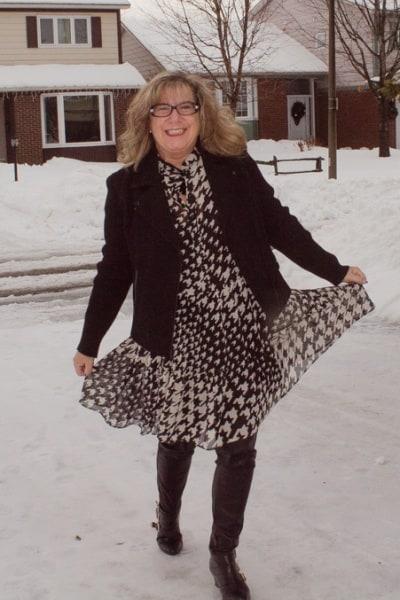 HM Chiffon and Winter Fun